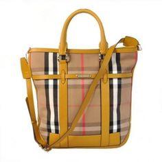 Burberry House Check Sacs Leather Handle 8ffb080d657b3