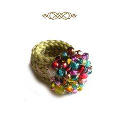 Crochet Rings, Bunt, Stud Earrings, Etsy, Jewelry, Gifts For Women, Glass Beads, Jewlery, Jewerly