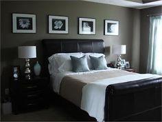 Bedroom paint color  @Courtney Baker Baker Baker Robinson & like pics behind head board
