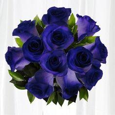 Fiesta Roses Long Stem Purple Roses - 12 Stems no Vase - http://yourflowers.us/?p=3525