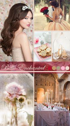 Belle Enchanted Wedding Inspiration from Vintage Tea Roses http://vintagetearoses.com/belle-enchanted-wedding-inspiration/