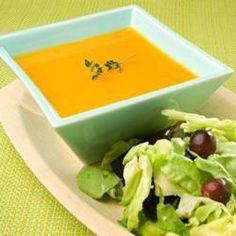 Soupe classique à la courge butternut @ http://allrecipes.fr