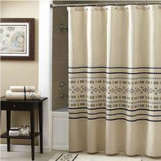 Croscill Cheyenne Fabric Shower Curtain #Croscill #HomeDecor #ShowerCurtain