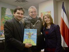 Presentación del libro Las aventuras de Pánfila en la Embajada de Costa Rica en Canada del autor  David Alvarado Mora cuento de ficción contemporanea