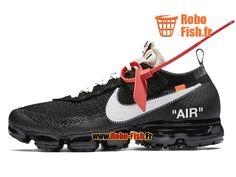 Officiel Off White X Nike Air Vapormax The Ten Blanc/Noir AA3831-001 Chaussure Sportswear Prix