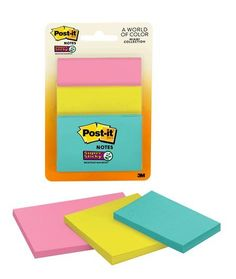STICKY NOTES 36 PADS YELLOW COLOUR 38 x 50mm 100 SHEETS PER PAD FREE DELIVERY