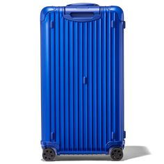 For the first time ever, the RIMOWA Original Trunk Plus aluminum suitcase is now available in marine blue. Shop now on the official RIMOWA website. Shenzhen Airlines, Olympic Airlines, Air Transat, Air China, Large Suitcase, Rimowa, Leather Luggage Tags, Hand Luggage, Air France