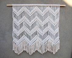 Large macrame wall hanging Large wall art Bedroom home decor Woven tapestry Boho bedroom wall decor Housewarming gift for her Beach house