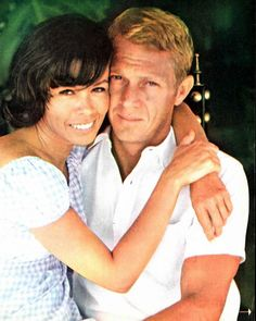 Steve McQueen with his wife | Personal Life