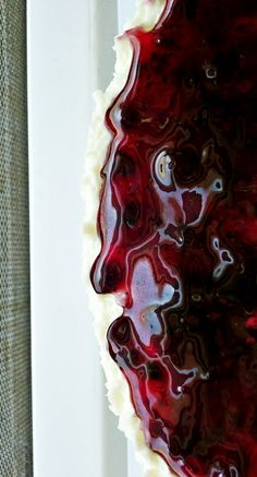 Blueberry Cheese Cake - recipe and photo by Khadeejah Raja