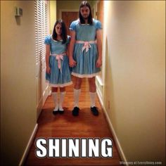Couples costumes - if you want to scare the crap out of everyone.