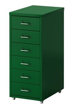 HELMER - drawer unit on castors, green IKEA £25