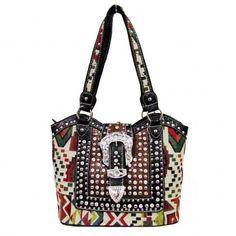 c43a97be3391  Wholesale Women s  Aztec Belt Buckle  Western  Handbags TC-5764 CRM OS  only  20.00 at shopforbags.com