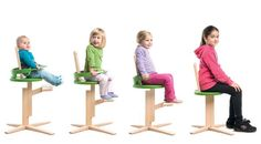 Froc chair adjusts to your child's need with age