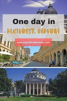 One day in Bucharest, Romania | 24h in Bucharest | What to do in one day in Bucharest | Discover Romania's capital in one day