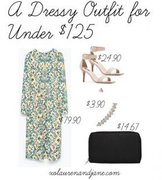 A Dressy Outfit for Under $125 - xo, lauren and jane