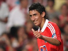 Angel Di Maria, player Sport Lisboa e Benfica.