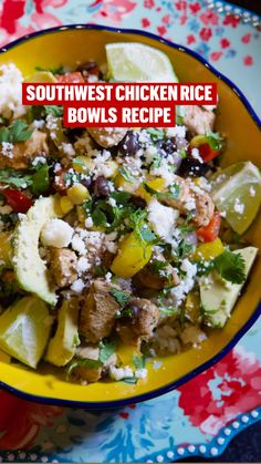 Entree Recipes, Mexican Food Recipes, Beef Recipes, Italian Recipes, Cooking Recipes, Healthy Recipes, Different Chicken Recipes, Chicken Rice Bowls, Healthy Weeknight Meals
