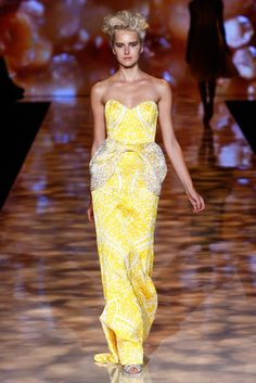 Badgley Mischka Spring 2012 Ready-to-Wear Fashion Show - Lisanne De Jong