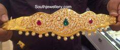 Pacchi Work Kids Vaddanam ~ Latest Jewellery Designs