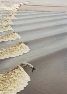 When the Amazon river meets the sea