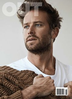 """""""Call Me by Your Name"""" actor Armie Hammer covers the November 2017 issue of OUT magazine photographed by Nino Muñoz and styled by Grant Woolhead. Armie Hammer, Most Beautiful Man, Gorgeous Men, Pretty Men, Out Magazine, Magazine Covers, Issue Magazine, Trends Magazine, Digital Magazine"""