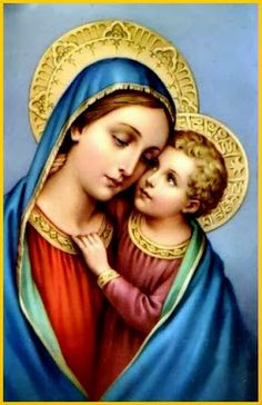Christian-God-Jesus-Christ-Photo-Merry-with-infant-jesus Religious Pictures, Jesus Pictures, Religious Icons, Religious Art, Funny Pictures, Jesus Mother, Blessed Mother Mary, Blessed Virgin Mary, Baby Jesus