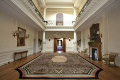 Inside Anmer Hall Norfolk, England. Anmer Hall was a wedding gift from the Queen to the Duke and Duchess of Cambridge.