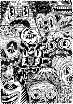 abstract coloring pages for teenagers difficult  google