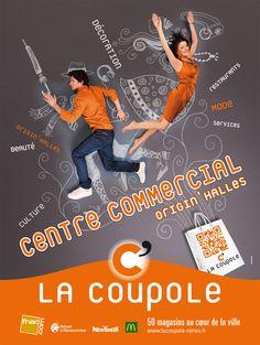 La Coupole des halles - Centre commercial - Campagne de communication & stratégie publicitaire