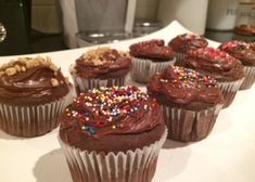 Gluten Free Chocolate Cupcakes... by Jeremy Scott Fitness