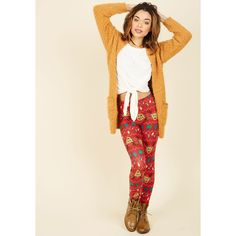 90s Skinny Swell on a Holiday Leggings (€7,51) ❤ liked on Polyvore featuring pants, leggings, apparel, bottoms, red, red pants, skinny trousers, evening pants, pink pants and legging pants