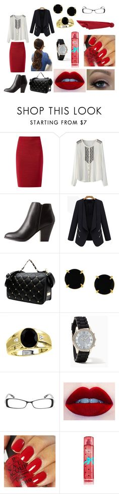 """""""Another day at the desk"""" by allyfazio ❤ liked on Polyvore featuring Delicious, Vince Camuto, Madison Parker, Ultimate, OPI and MANGO"""