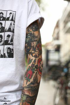 Magnus Wolfgang, Montréal - The Tattoorialist