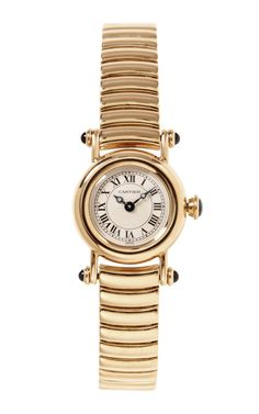 My dream watch! The Cartier 18K Yellow Gold Ladies Diablo Watch From Beladora by Beladora - Moda Operandi
