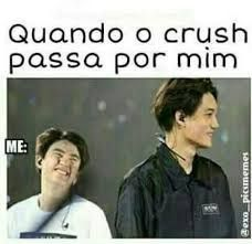 exo, kpop, and funny image Kaisoo, Chanbaek, Chanyeol, Funny Crush Memes, Crush Humor, Crush Quotes, Exo Memes, Top Funny, Hilarious