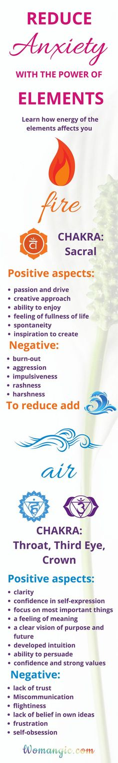 Reduce anxiety with the power of Elements...