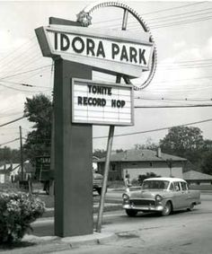 OH, Youngstown, Idora Park - The main Gate. The park opened as Terminal Park on May 30, 1899. Park itself closed in 1984 after the fire but the Ballroom (opened Jun 30, 1910) remained open for various events until Memorial Day 1986. On March 5, 2001 the final chapter to Idora Park's history was written when the Ballroom burned down.