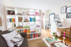 11 Small Space Hacks to Steal from This Blogger's NYC Studio | Brit + Co