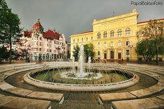 Dugonics tér, Szeged, Hungary Sun City, Places Of Interest, Grand Hotel, Countryside, Places Ive Been, Travel Inspiration, Beautiful Places, To Go, Exterior
