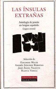 Una cuidada antología sobre la poesía en español de la segunda mitad del S.XX. Controvertida, como la mayoría de las antologías, pero que facilita el acercamiento a las personas que, como yo, sienten atracción por este género literario.