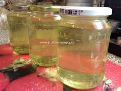 This is a category archive for Domácí medicína a nápoje Mason Jars, Food And Drink, Water Bottle, Smoothie, Homemade, Drinks, Lemon, Syrup, Drinking