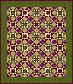 Free Quilt Patterns for Beginning to Experienced Quilters: Eight Hands Around Quilt Pattern