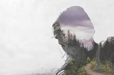 Dreamy multiple exposure photography by Luke Gram who creates serene images by combining landscape imagery with silhouettes. Photoshop Photography, Creative Photography, White Photography, Amazing Photography, Landscape Photography, Portrait Photography, Distortion Photography, Levitation Photography, Surrealism Photography