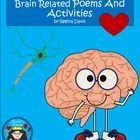 $ - Neurons: Brain Related Poems, Doubles Practice, Making Words & Writing Sheets. Audio of poems included.  Enjoy! Regina Davis aka Queen Chaos at Fairy Tales And Fiction By 2.