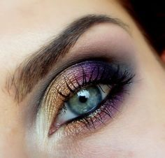 make up eye : degrader