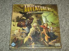 Contemporary Manufacture 180349: Adventurers: The Pyramid Of Horus - Fantasy Flight Games 2011 - New And Sealed -> BUY IT NOW ONLY: $74.99 on eBay!