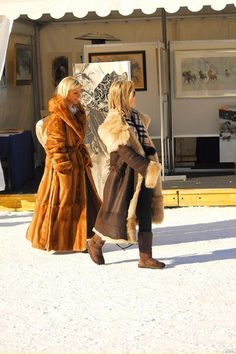 St.Moritz fur resort+russian snow polo