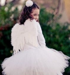 Angel costumes for girls.