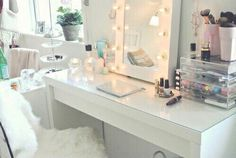 room, makeup, and beauty image